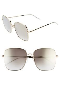 Tommy Hilfiger 58mm Gradient Square Sunglasses