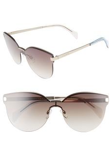 Tommy Hilfiger 99mm Rimless Cat Eye Sunglasses