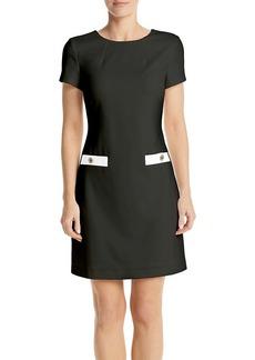Tommy Hilfiger A-Line Scuba Dress