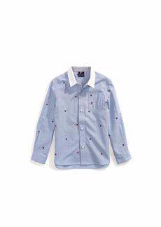 Tommy Hilfiger Adaptive Big Boys Magnetic Button Shirt
