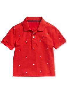 Tommy Hilfiger Niles Cotton Shirt /& Bowtie 4-7 Little Boys