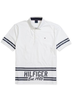 Tommy Hilfiger Adaptive Men's Hemenway Custom-Fit Polo Shirt with Magnetic Buttons