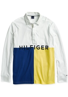 Tommy Hilfiger Adaptive Men's James Rugby Shirt with Magnetic Buttons