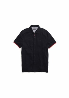 Tommy Hilfiger Adaptive Men's Polo Shirt with Magnetic Buttons Custom Fit