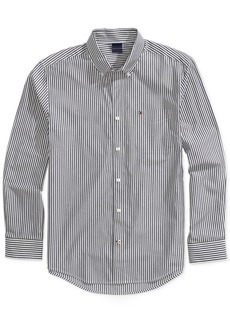 Tommy Hilfiger Adaptive Men's Stripe Shirt with Magnetic Buttons