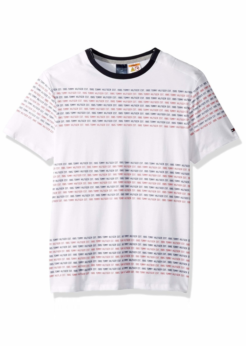 Tommy Hilfiger Adaptive Men's T Shirt with Magnetic Buttons at Shoulders  LG