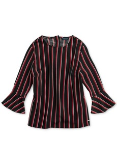 677197b899308 Tommy Hilfiger Adaptive Women s Matcha Stripe Top with Magnetic Closures