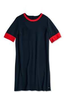 Tommy Hilfiger Adaptive Women's Raquel Colorblocked Dress with Magnetic Closures