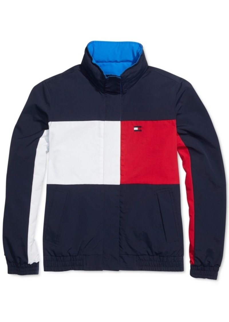 Tommy Hilfiger Adaptive Women's Reversible Jacket With Magnetic Zipper