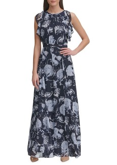 Tommy Hilfiger Afordite Floral A-Line Dress