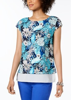 Tommy Hilfiger Aloha Layered-Look Top, Created for Macy's