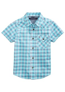 Tommy Hilfiger Andrew Plaid Cotton Shirt, Big Boys