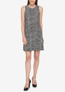 Tommy Hilfiger Animal-Print Jersey Shift Dress