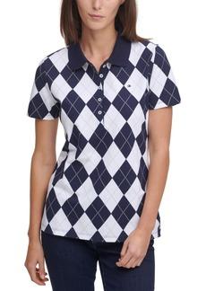 Tommy Hilfiger Argyle Polo Shirt