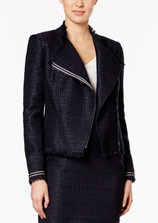 Tommy Hilfiger Asymmetrical Fringe Jacket
