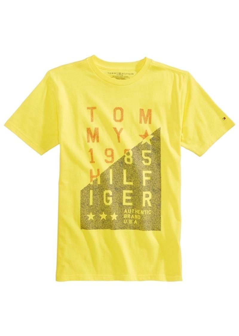 191e134f4af05 Tommy Hilfiger Tommy Hilfiger Authentic Graphic-Print Cotton T-Shirt ...