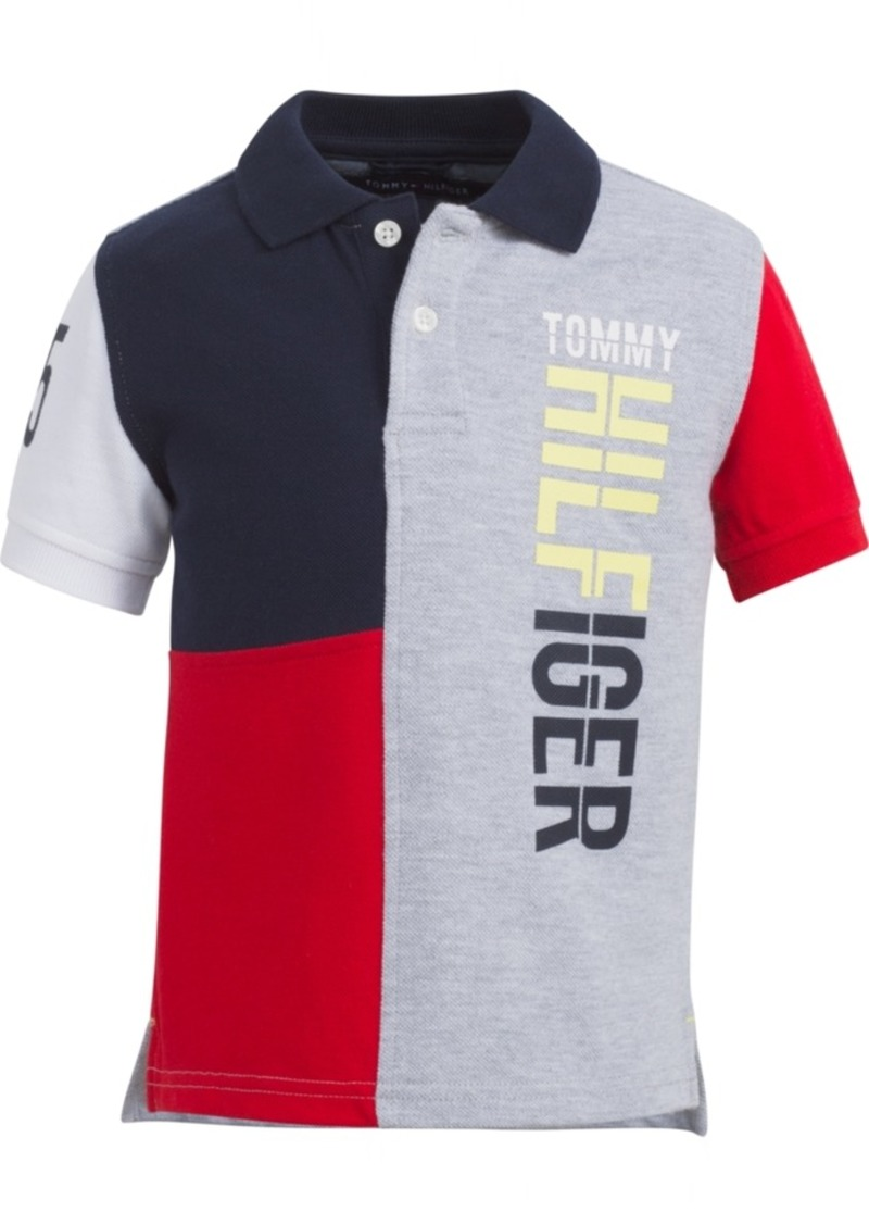 256c87986 Tommy Hilfiger Tommy Hilfiger Baby Boys Colorblocked Polo Shirt | Shirts
