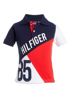 Tommy Hilfiger Baby Boys Colorbloked Cotton Pique Polo Shirt