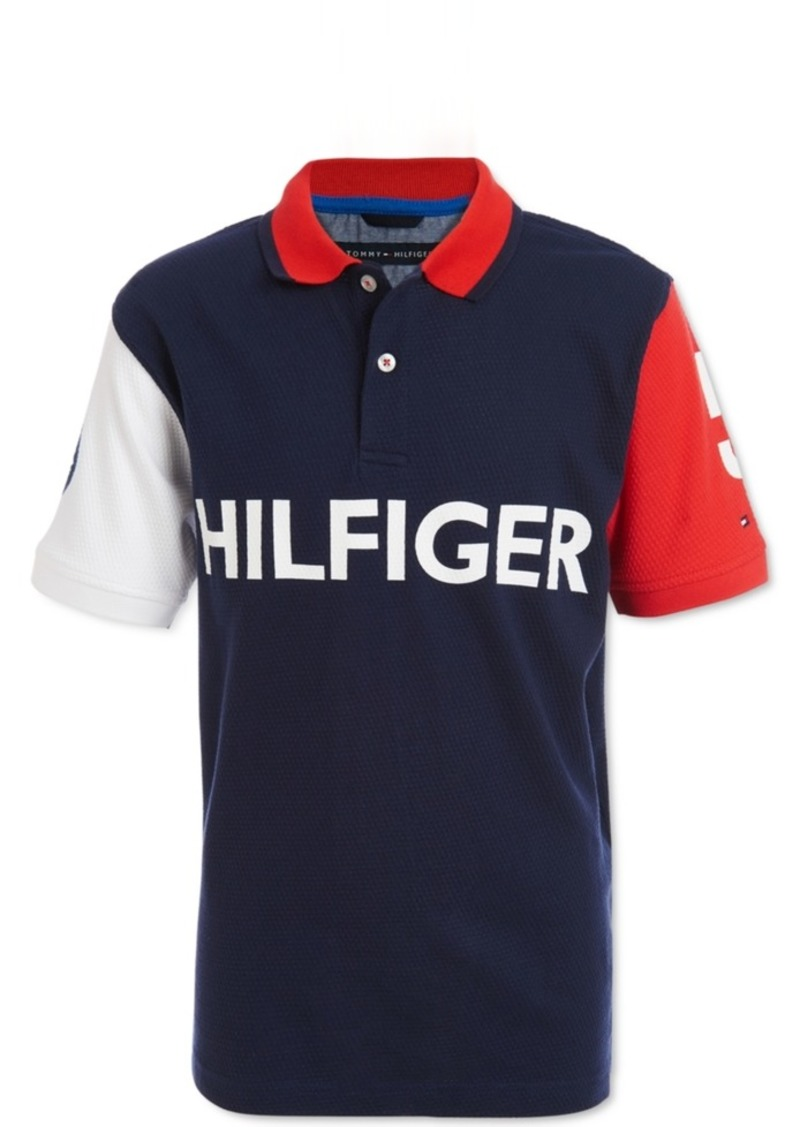 Tommy Hilfiger Baby Boys Cotton Logo Polo Shirt
