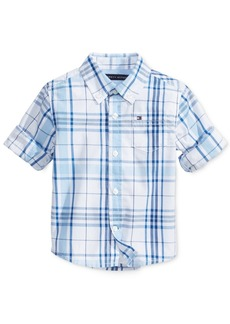 Tommy Hilfiger Baby Boys Ethan Plaid Shirt