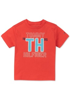 Tommy Hilfiger Baby Boys Logo Cotton T-Shirt