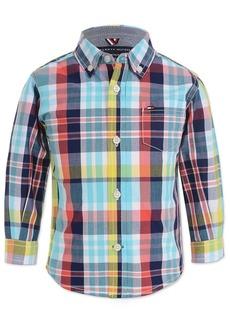 Tommy Hilfiger Baby Boys Plaid Shirt