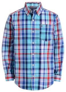 Tommy Hilfiger Baby Boys Stretch Plaid Shirt