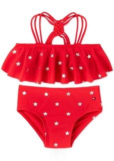 Tommy Hilfiger Baby Girls 2-Pc. Nina Star-Print Bikini Swimsuit