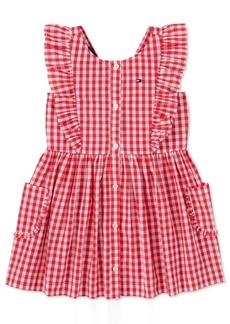 Tommy Hilfiger Baby Girls Cotton Gingham Dress