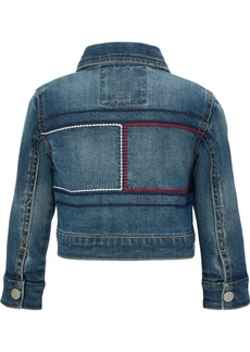 Tommy Hilfiger Baby Girls Embroidered Denim Jacket