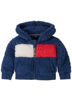Tommy Hilfiger Baby Girls Flag Fleece Zip-Up Jacket