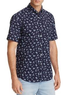 Tommy Hilfiger Bamboo Leaf Print Regular Fit Button-Down Shirt