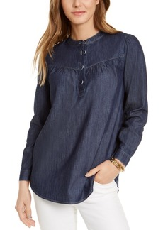 Tommy Hilfiger Band-Collar Top