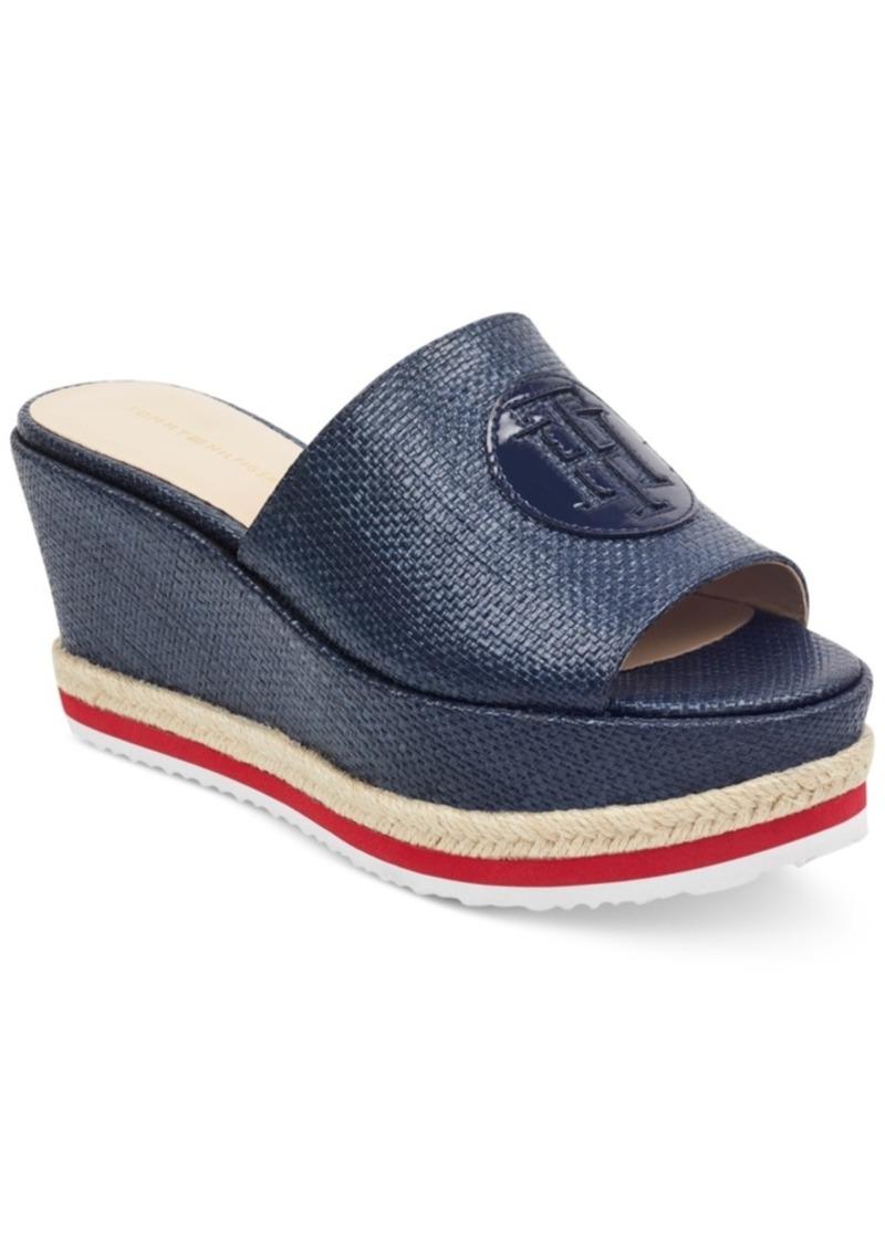 6c8237c2491b Batist Platform Espadrille Wedge Sandals Women s Shoes. Tommy Hilfiger