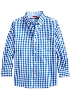 Tommy Hilfiger Baxter Gingham Shirt, Toddler Boys