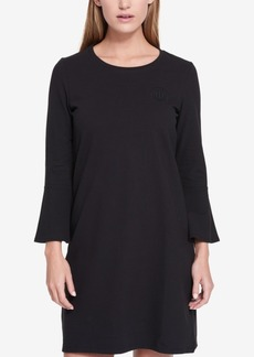 Tommy Hilfiger Bell-Sleeve T-Shirt Dress, Created for Macy's
