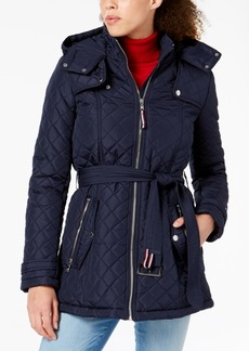 Tommy Hilfiger Hooded Quilted Jacket