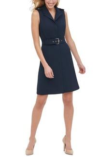 Tommy Hilfiger Petite Belted A-Line Dress