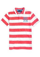 Tommy Hilfiger Ben Striped Cotton Polo Shirt, Toddler & Little Boys (2T-7)