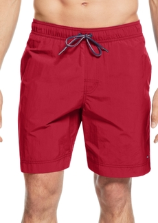 """Tommy Hilfiger Big and Tall Men's 9.5"""" Tommy Swim Trunks"""