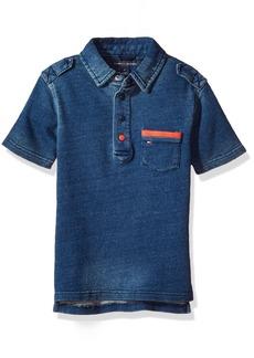 Tommy Hilfiger Big Boys' Adisson Knit Denim Polo