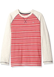 Tommy Hilfiger Big Boys Alexa Stripe Jersey Long Sleeve Tee