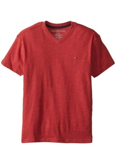 Tommy Hilfiger Big Boys' CVC V-Neck Tee  Large