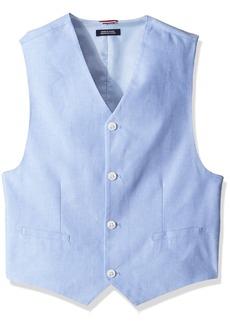 Tommy Hilfiger Boys' Big Oxford Vest  L
