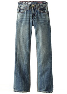 Tommy Hilfiger Big Boys' Revolution Slim Fit Jeans Medium Blue /Regular