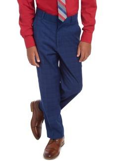 Tommy Hilfiger Big Boys Stretch Plaid Suit Pants