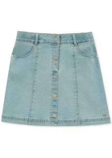 Tommy Hilfiger Big Girls Button-Front Denim Skirt