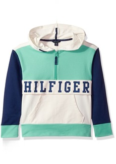 Tommy Hilfiger Girls' Big Colorblocked Hoodie