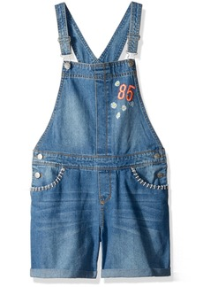 Tommy Hilfiger Girls' Big Denim Shortall
