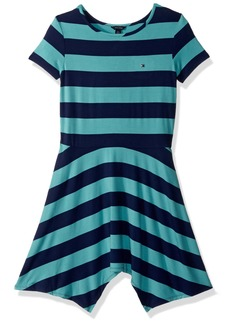 Tommy Hilfiger Girls' Big Handkerchief Dress